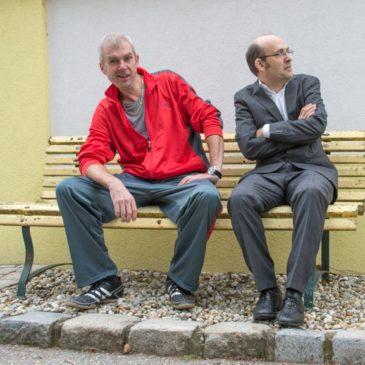 """Manfred Linhart & Georg Bauernfeind mit """"Durscht und Nüchtern"""" im Posthof LINZ"""