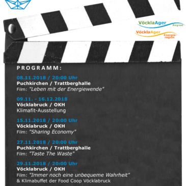 Einladung: Vöckla Ager Filmwochen
