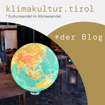 Neuer Klimakultur Blog aus Tirol online!